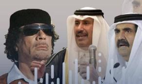 تسريب صوتي يفضح استغلال الحمدين والقذافي للقبلية لإسقاط الحكم في دول الخليج