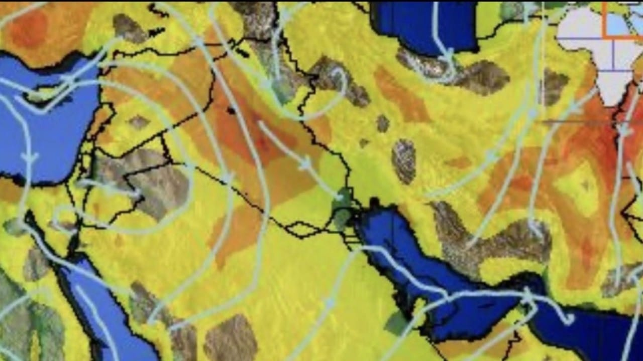 «الحصيني» : رياح متوسطة وأمطار متفاوتة على عدة مناطق (صور)