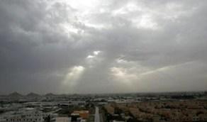 حالة الطقس المتوقعة غدا الاثنين على المملكة