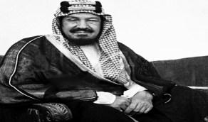 صورة قديمة للملك عبدالعزيز وهو في عمر 36 عاما