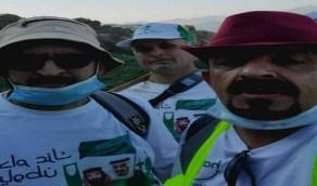 مواطن ينظم مسيرة بمسافة 120 كم في 72 ساعة بمناسبة اليوم الوطني