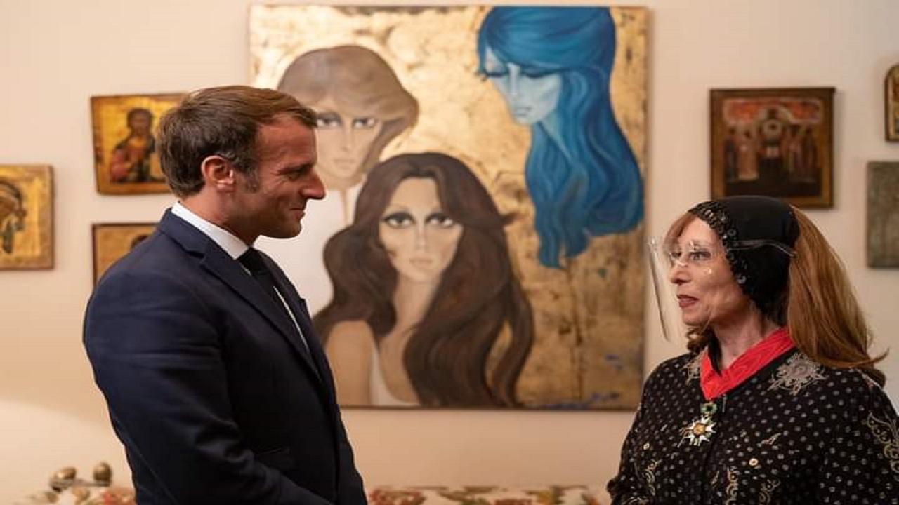 بالفيديو والصور..تفاصيل زيارة الرئيس الفرنسي لفيروز