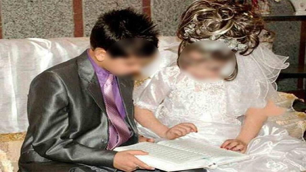 طفل لم يتم الـ16 عامًا ينجب طفلا من زوجته القاصر