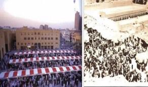 صور تكشف تطور معالم الرياض بين الماضي والحاضر