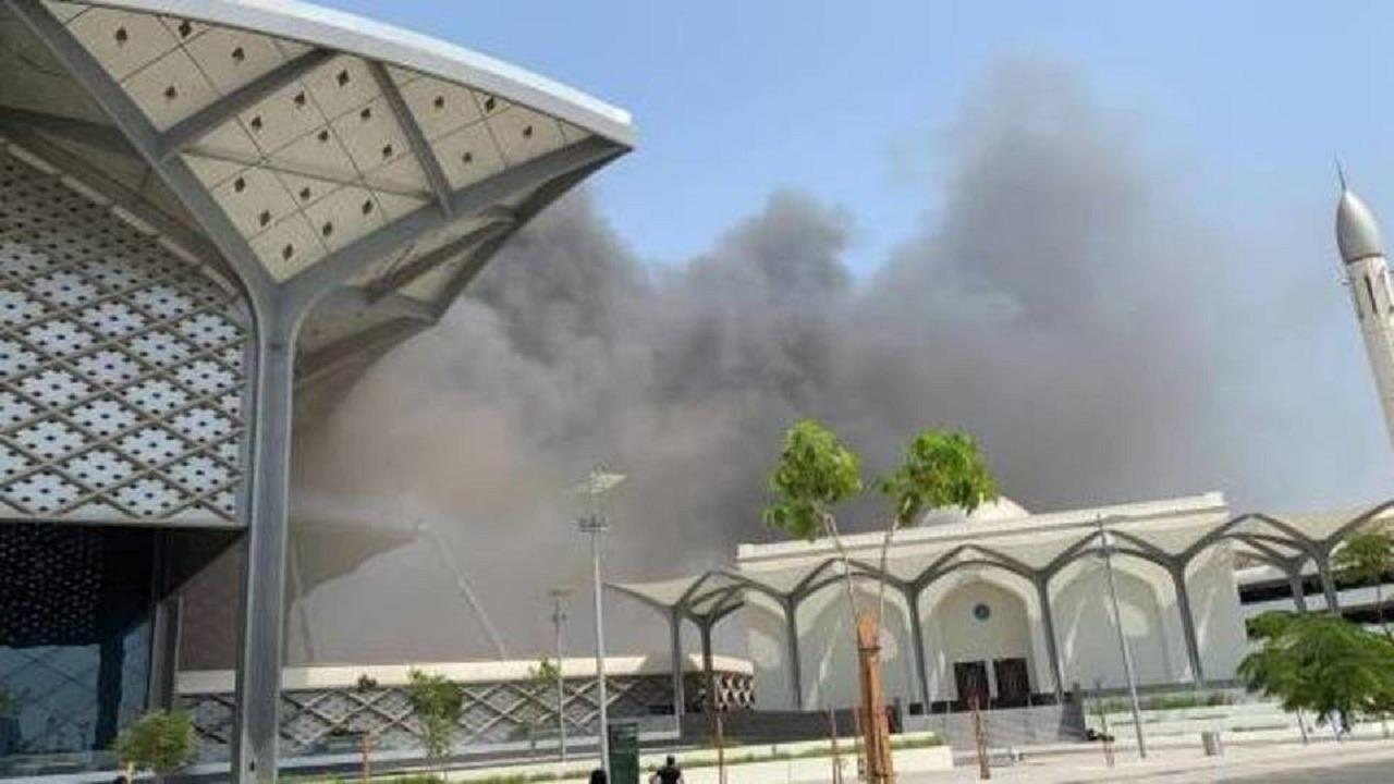 أخر تطورات تأهيل محطة قطار الحرمين بعد عام من الحريق