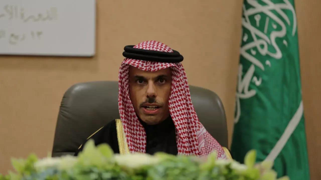 وزير الخارجية: المملكة تدعم جميع الجهود للوصول لحل عادل للقضية الفلسطينية