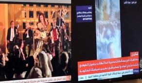 الإخوان الإرهابية والجزيرة يعيشون في «جمعة الغضب» والقناة الأولى المصرية ترد بـ «الراقصة والسياسي»