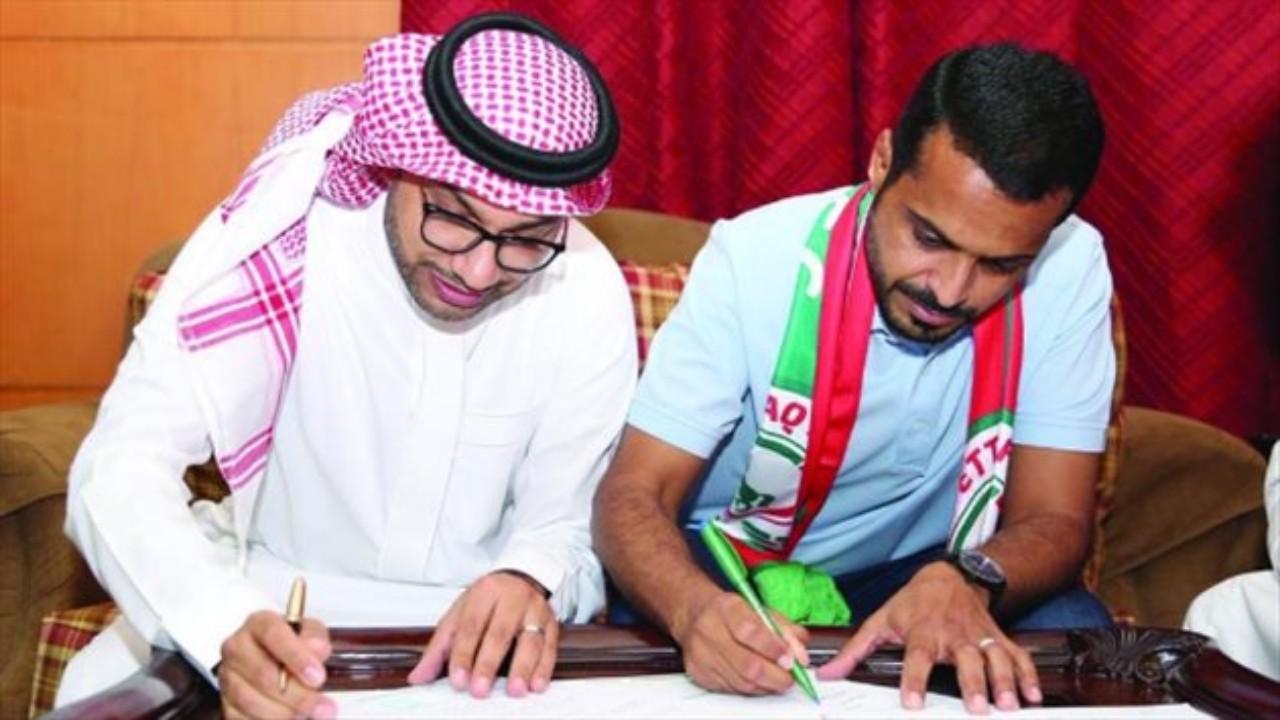 الاتفاق يجدد تعاقده مع خالد العطوي لموسمين مقبلين