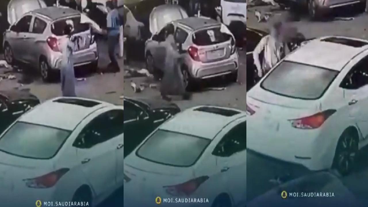 بالفيديو.. الإطاحة بمُطلق النار على عمال صيانة بعسير