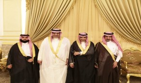 """المهندس جمعان الزهراني يحتفل بعقد قران ابنه """"محمد"""""""