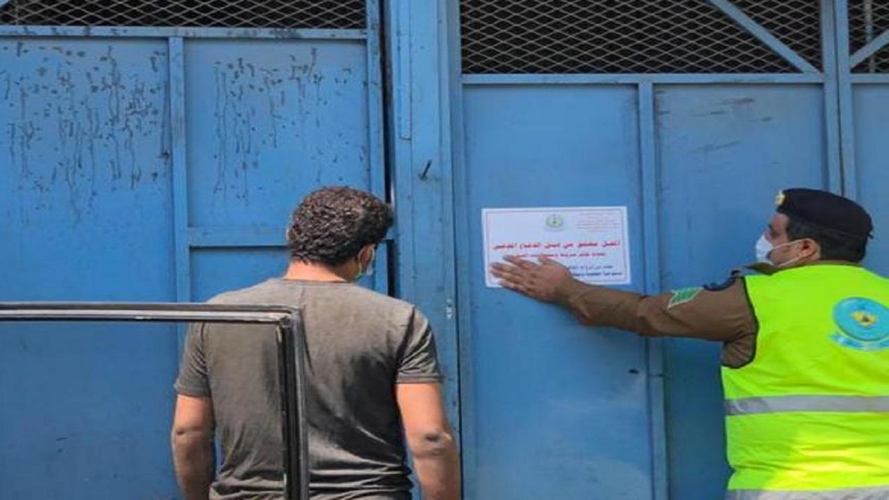"""مدني أبها ينفذ حملة تفتيشية على """"صناعية أبها """""""