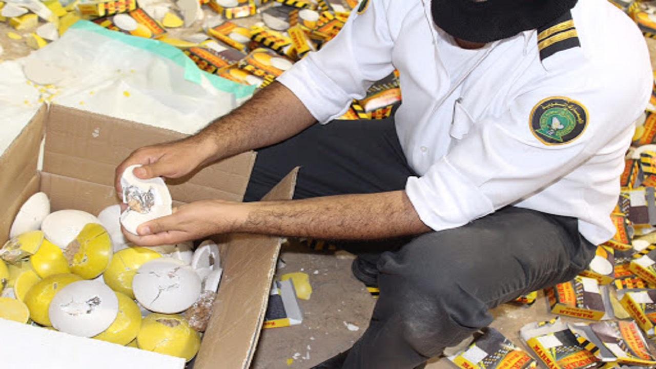 المملكة تضبط 117 مليون حبوب مخدرة خلال عام