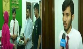بالفيديو.. يوميات مبتعث بالقاهرة يساعد زملائه السعوديين للعودة للدراسة