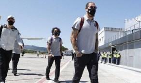 مشاكل تقنية تواجه طائرة ريال مدريد مما يسبب تأخر رحلة الملكي