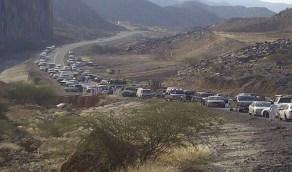 """مقطع دهس مقيم في أضم يثير الغضب والبلدية: """" الطريق لا يتبعنا """""""