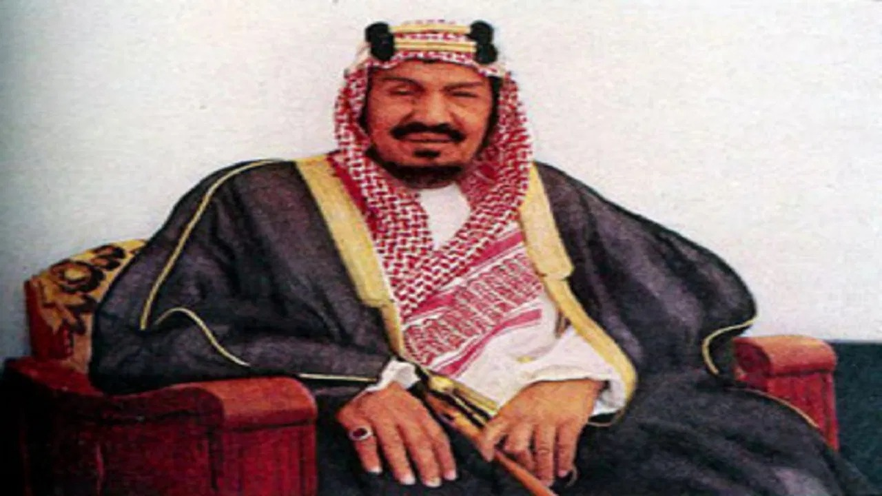 الطول الحقيقي للملك عبدالعزيز آل سعود