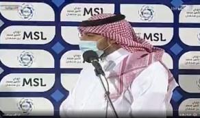 المسحل : وزير الرياضة وجه بتسهيل وتوفير كل سبل النجاح للأندية في بطولة آسيا (فيديو)