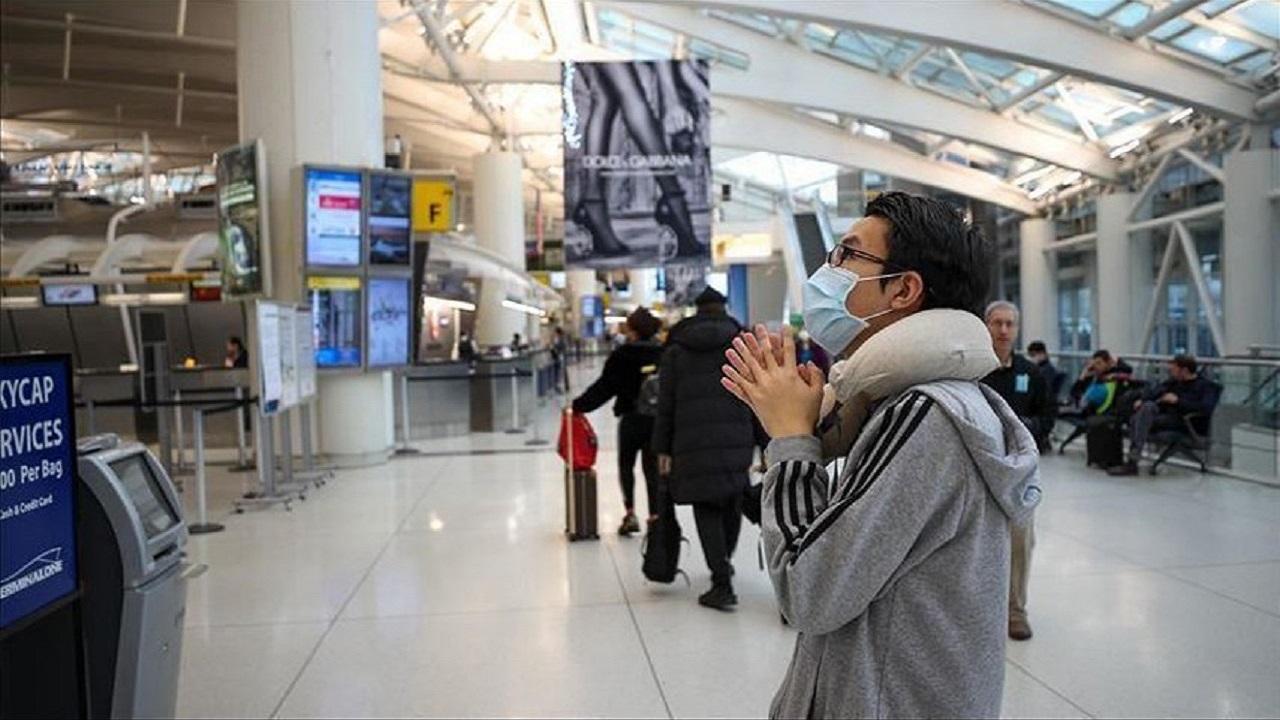 أمريكا توقف فحص كورونا للمسافرين القادمين من بعض الدول