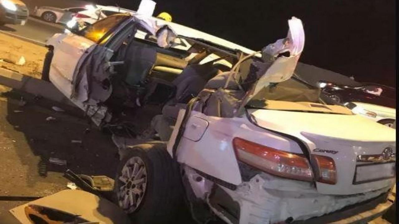 إصابة 4 أشخاص في حادث تصادم بمدخل مكة