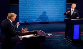 """بالفيديو..جو بايدن يستخدم كلمة """" إن شاء الله """" بالعربية في رده على ترامب"""