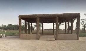 بالفيديو .. قصة إنشاء عريش الملك عبدالعزيز التاريخي في الخرج