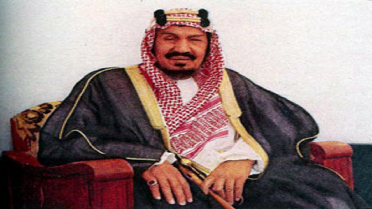 موقف يدل على بر الملك المؤسس بوالده أثناء تأديته مناسك الحج