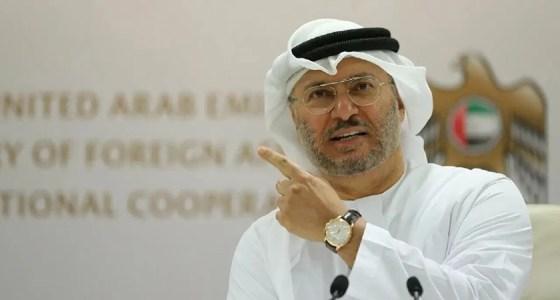 """قرقاش تعليقًا على غزو قطر:  """"هذيان  لا يستحق الرد """""""