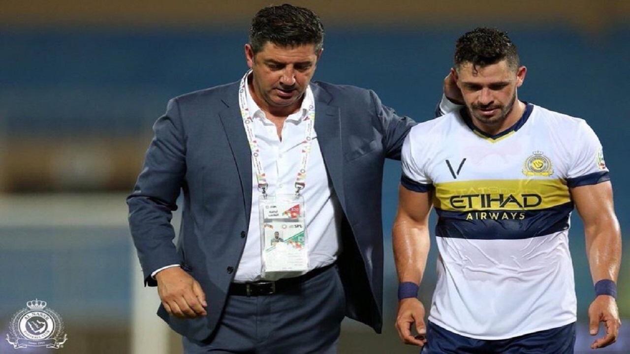 جوليانو يعلن رحيله عن النصر رسميا: لن أذكر الأسباب الآن