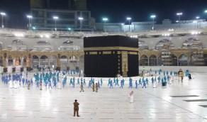 بالصور.. تجربة إفتراضية لإستقبال المعتمرين شملت تأدية مناسك العمرة