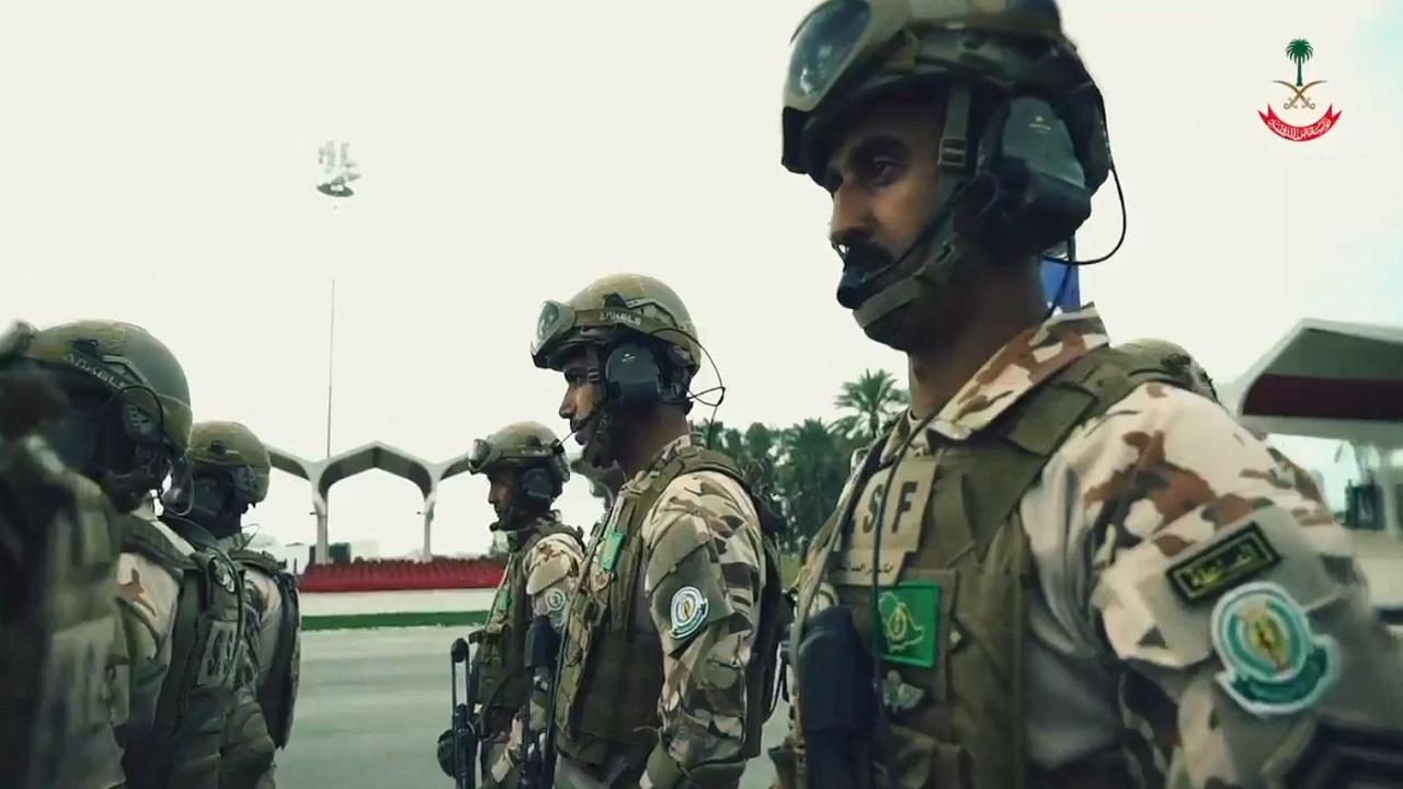شاهد.. جاهزية القوات الخاصة المتأهبة لتنفيذ المهام القتالية المختلفة لحفظ الوطن