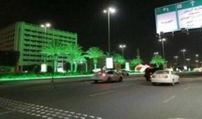 الطائف والخبر يستقبلان العيد الوطني باللون الأخضر
