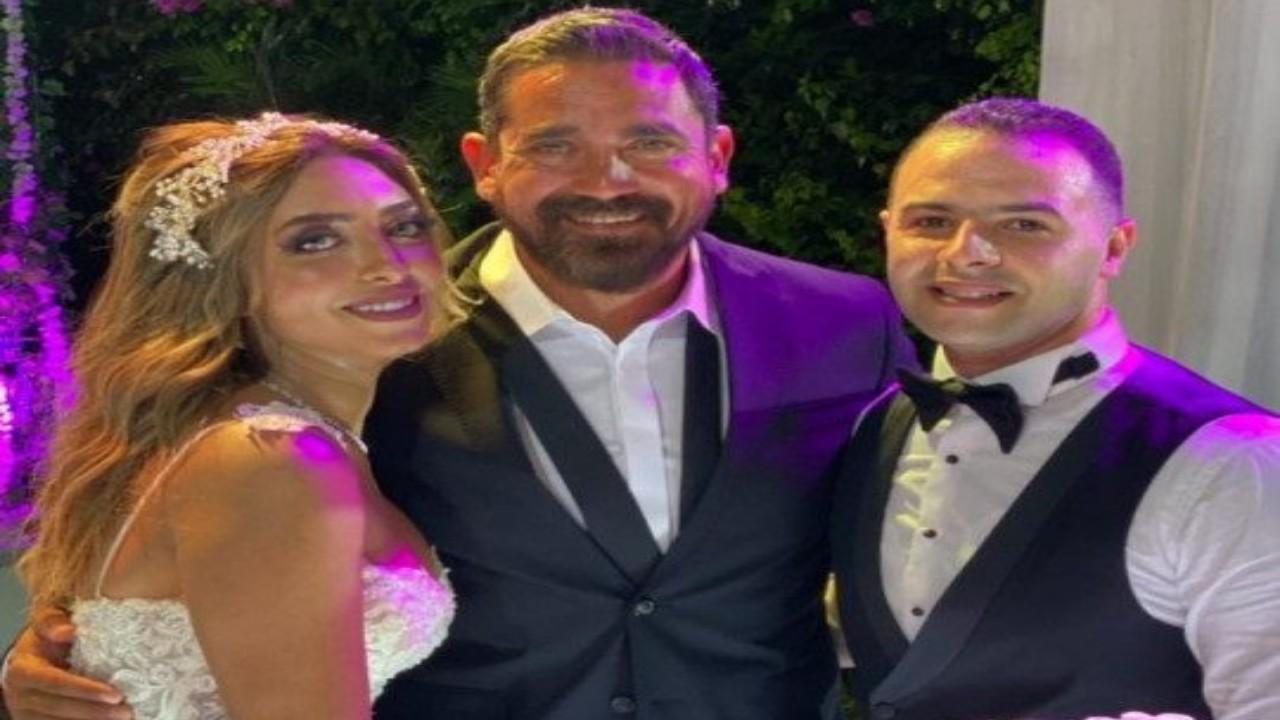 بالصور.. بكاء أمير كرارة أثناء الاحتفال بزفاف شقيقته