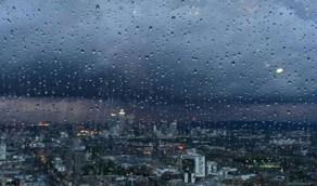 الدفاع المدني ينبه بهطول الأمطار الرعدية ويدعو لأخذ الحيطة والحذر