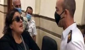 تفاصيل جديدة بقضية السيدة المتعدية على ضابط مصري
