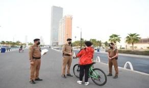 شاهد.. شرطة مكة المكرمة تجري جولاتها الميدانية في المواقع السياحية