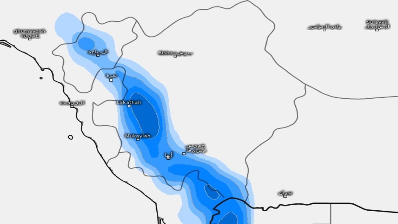 بالصور.. «المسند»: لازالت التوقعات المطرية لم تنقطع طوال فصل الصيف