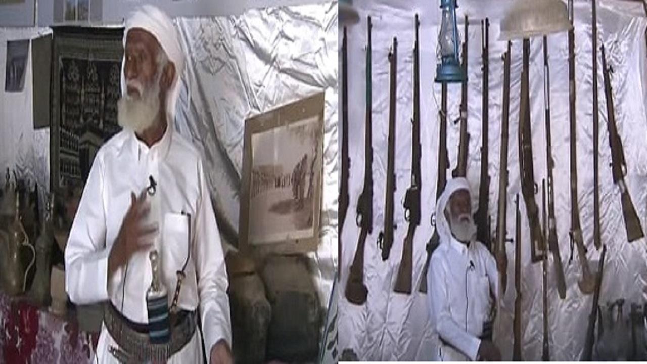 بالفيديو.. حكاية متحف الفيصل بنجران وأهم المقتنيات الأثرية التي جمعها «العم سعيد»