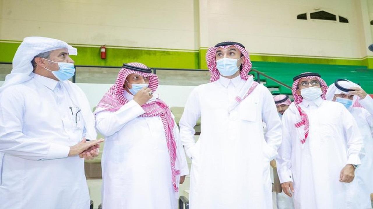 وزير الرياضة يوجه بإضافة 4 ملاعب جديدة بمدينة الملك فيصل