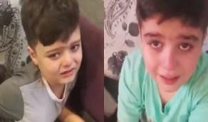 بالفيديو..أطفال سوريون يبكون متأثرين بوفاة الشيخ صباح الأحمد الصباح