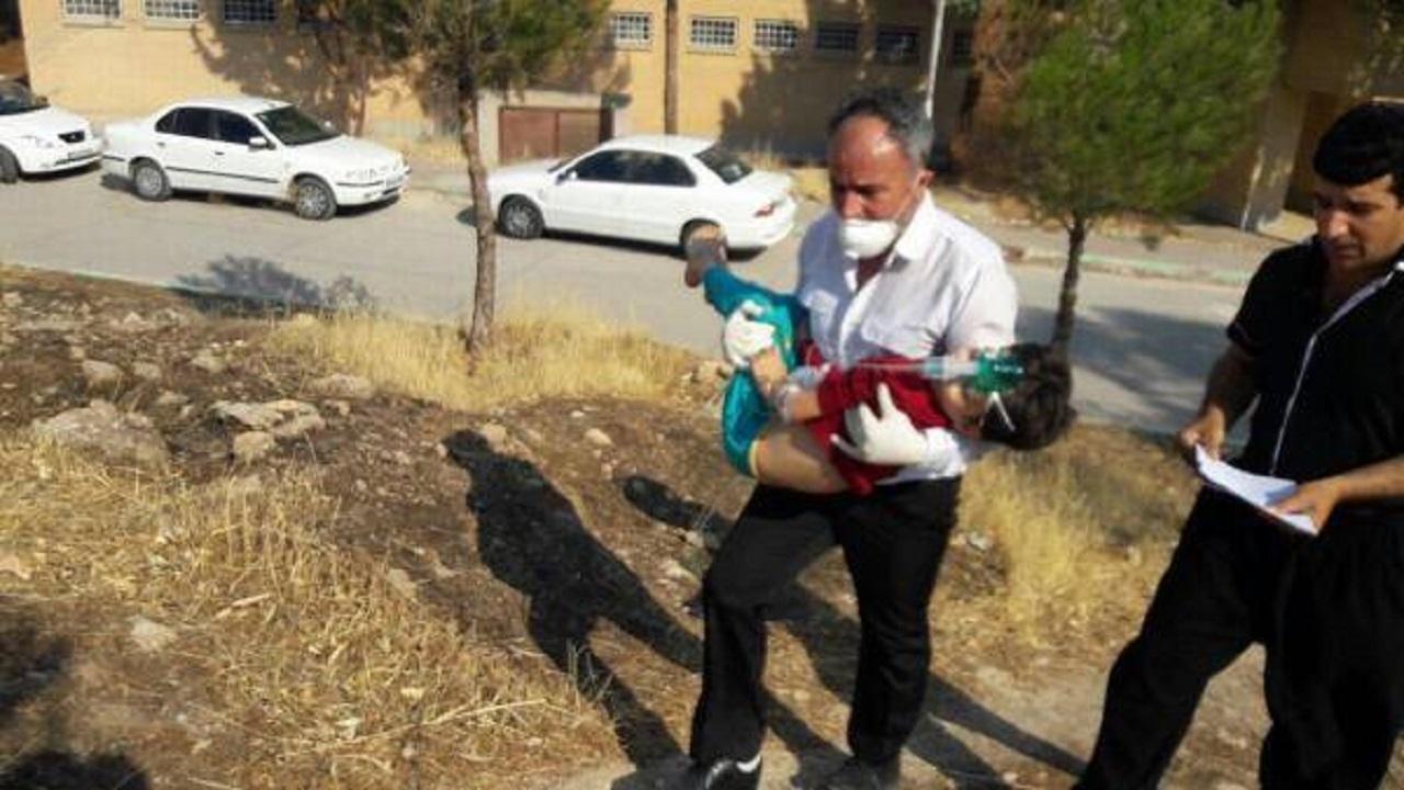 إنفجار غرب إيران يتسبب في تسمم العشرات