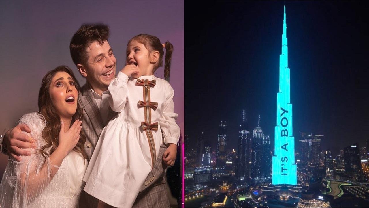 نجل معارض سوري يدفع 95 ألف دولار لكتابة جنس مولوده على برج خليفة
