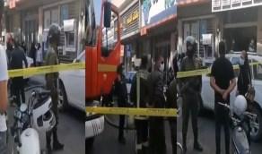 بالفيديو..إيراني يضرم النيران في عيادة رفضت معالجته