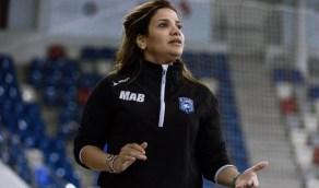 مدربة كرة قدم تسعى للفوز بأول بطولة نسائية في المملكة