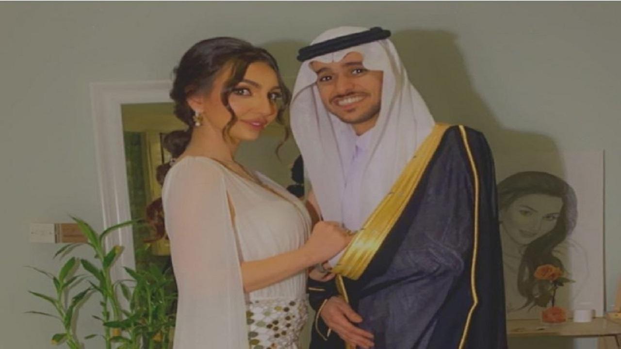 هبة الحسين تتصدر وسائل التواصل عقب إعلان زواجها من عايض يوسف