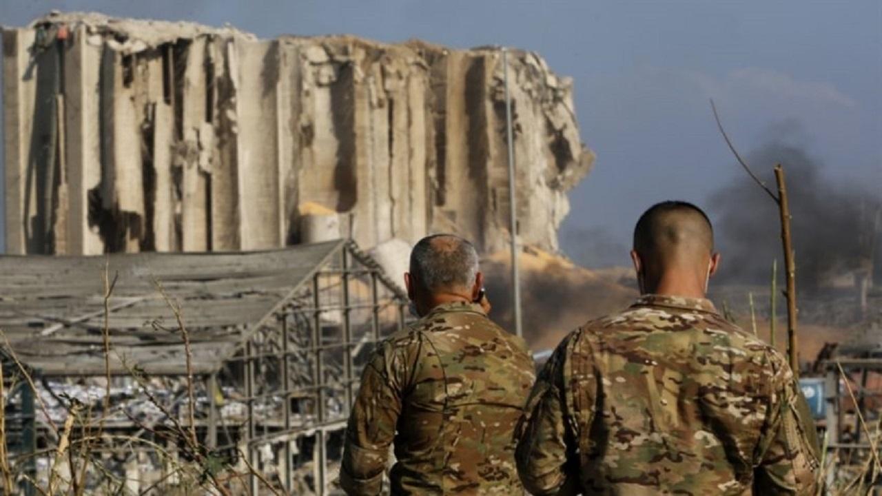 الجيش اللبناني يكشف مصير نترات الأمونيوم المكتشفة بعد انفجار بيروت