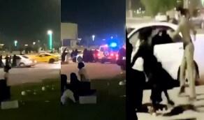 مطالب بتكريم رجل الأمن الذي سيطر على مشاجرة النساء رغم الهجوم