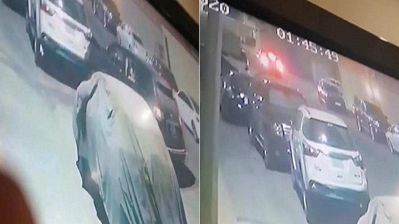 بالفيديو.. شخص يتعمد الإصطدام بسيارة مواطنة بجدة ويفر هارباً