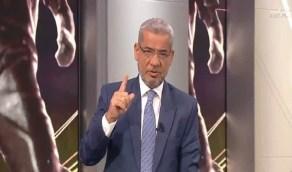 """الآغا يوضح سبب وقوفه احترامًا لـ""""الهلال"""""""