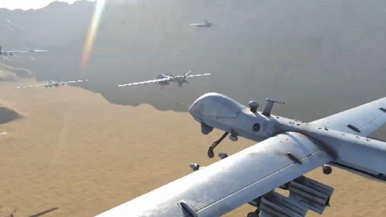 «التحالف» يعترض ويدمر طائرة «مفخخة» أطلقتها المليشيا الحوثية تجاه المملكة