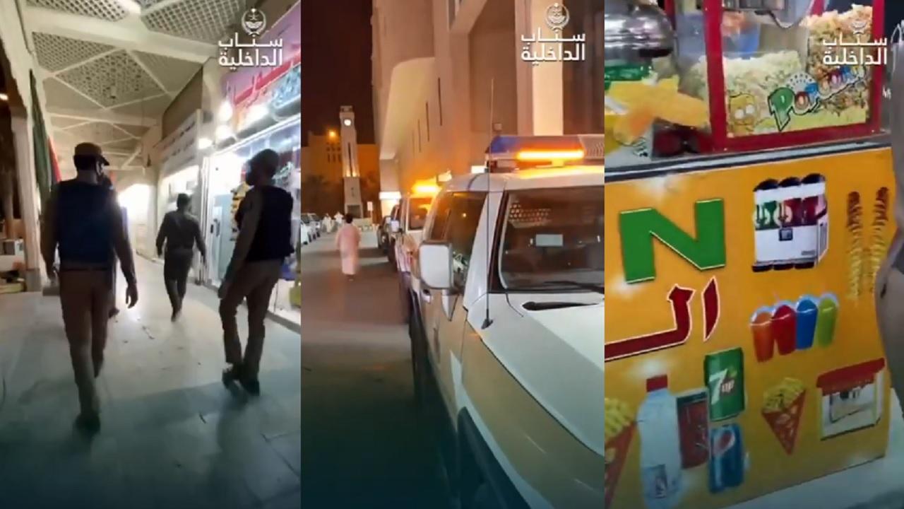 بالفيديو.. ضبط مخالفين للإجراءات الاحترازية في بعض المناطق بالمملكة